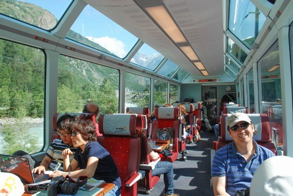 Panorama Trains Switzerland