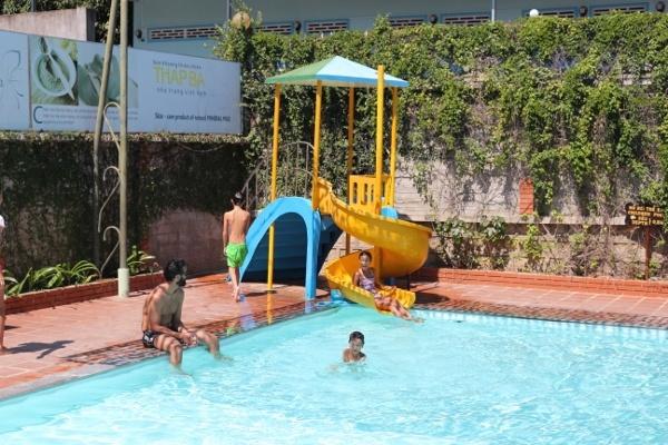 The Pool at the Mud Spa in Nha Trang, Vietnam