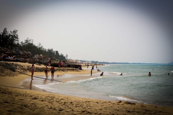 Beaches in Hoi An, Vietnam