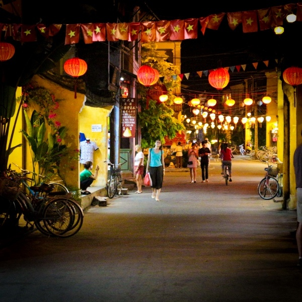 Hoi An, Vietnam at Night