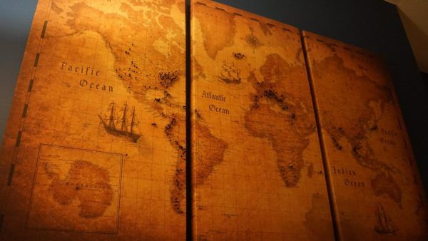 Conquest Maps Travel Board