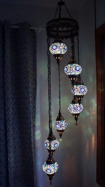 Hanging a Turkish Lantern at Home