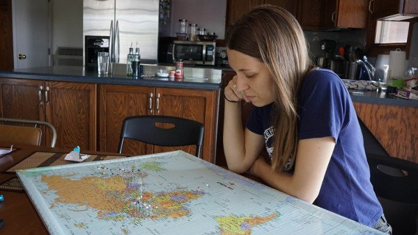 Trying to Remember Where We've Been for Our Travel Map