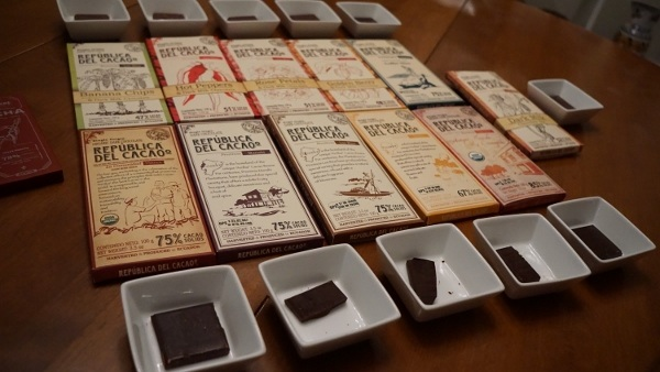 A Chocolate Tasting fit for a King