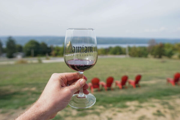 Damiani Winery in the Finger Lakes