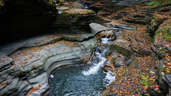 Waterfalls at Watkins Glen