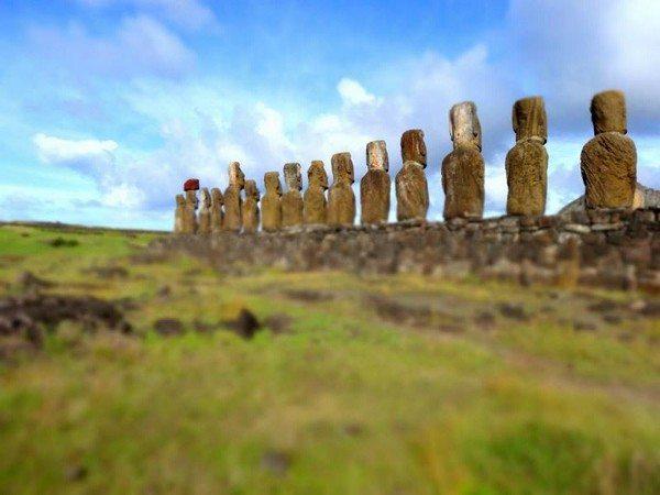 Ahu Tongariki on Easter Island
