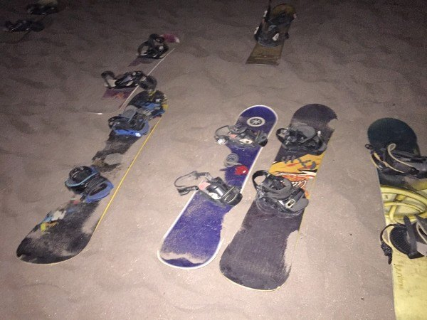 Rylei Night Boarding in San Pedro de Atacama