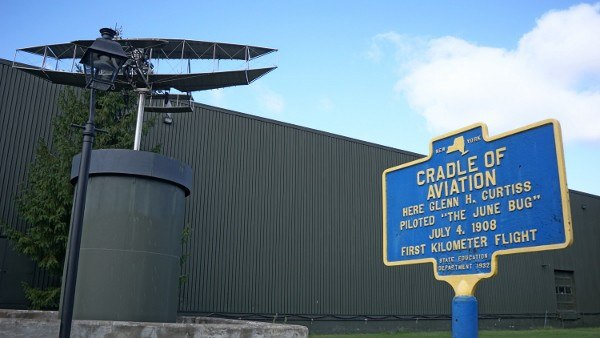 Glen H. Curtiss Museum in the Finger Lakes