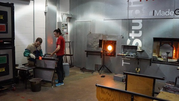 Making Glass at the Corning Museum of Glass