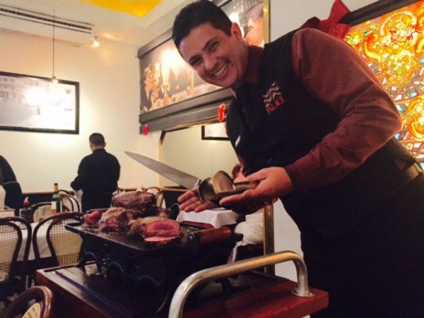 Meat Carvers at Churrascaria Palace