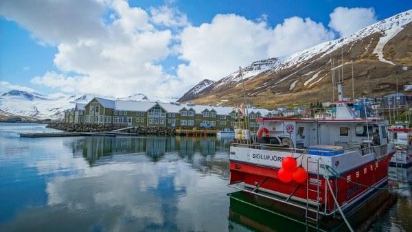 The gorgeous fjord town of Siglufjordur, Iceland