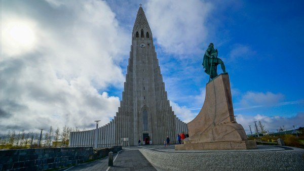 I've always wanted to visit this church in Iceland