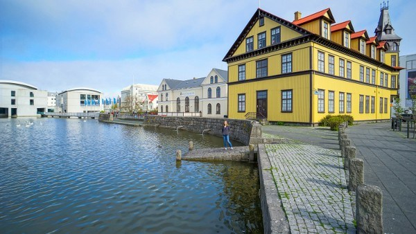 Reykjavik, Iceland in May