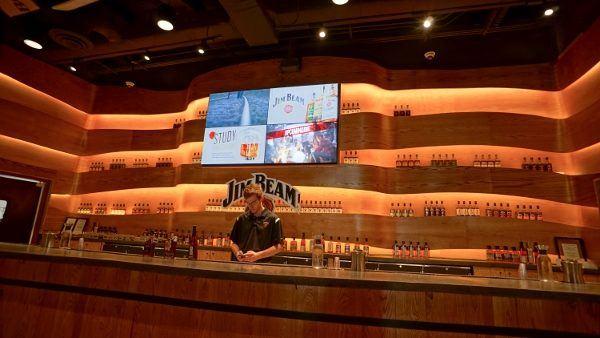 Bourbon Tasting at Jim Beam
