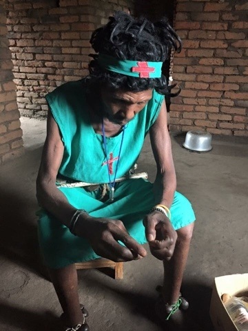 Witch Doctor in Malawi