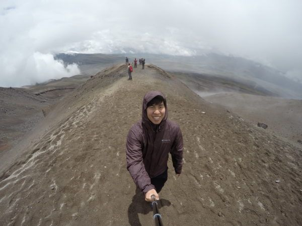 Hiking the Cotopaxi Volcano