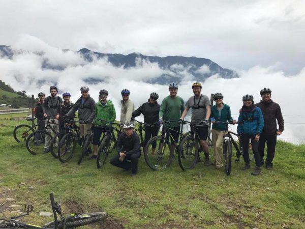 Mountain Biking in Llangates National Park