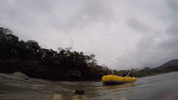 Rafting in Ecuador
