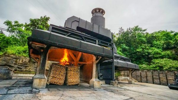Charcoal Being Made at Jack Daniel's