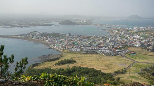Seongsan Ilchulbong view