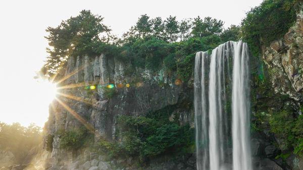 Jeonbang Waterfall