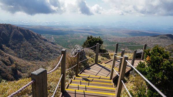 Mount Hallasan on Jeju Island