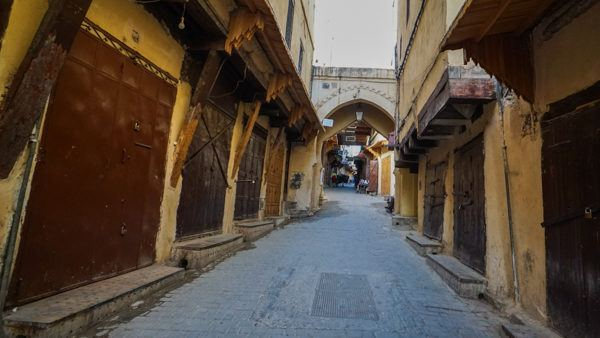 Streets of Fez, Morocco