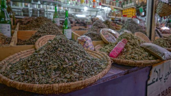 Spice Market in Morroco