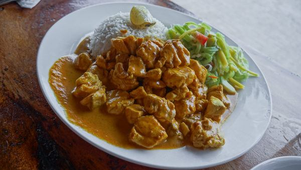 Curry in Seychelles