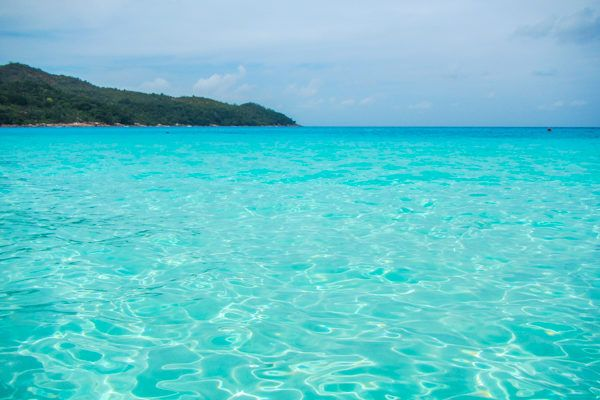 Crystal Clear Water of the Seychelles