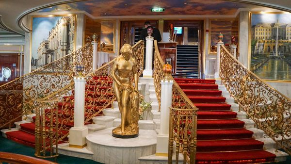 Opulent Dining Hall on the Norwegian Jewel