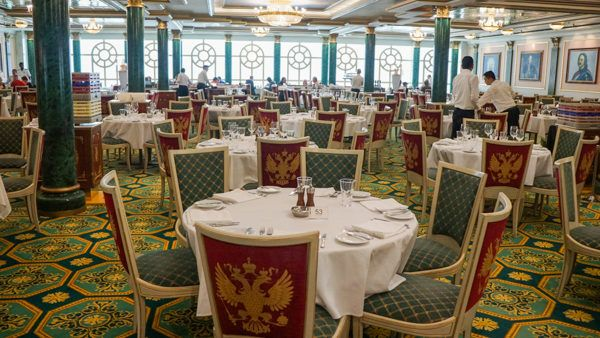 Tsar's Palace on the Norwegian Jewel