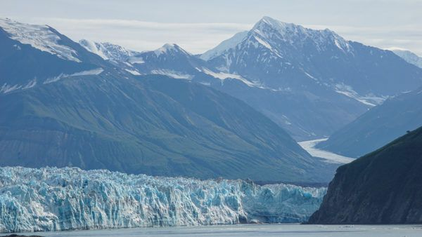Glaciers in Alaska with Norwegian