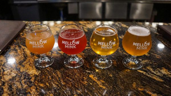 Sour beers at Mellow Mink Brewery in Harrisburg