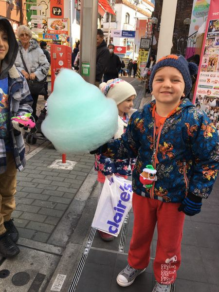 Cotton Candy in Japan