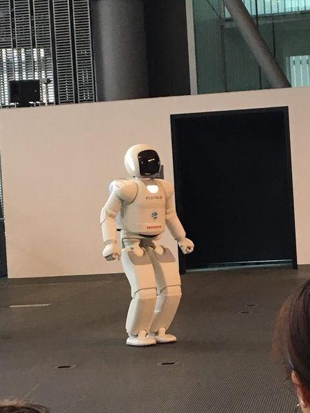Asimo Robot in Japan