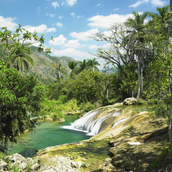 El Nicho Waterfall, Cienfuegos
