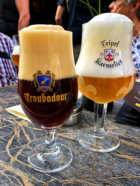 Tripel Karmeliet and Troubador Obscura