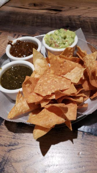 Chips and Dips at Ghost Ranch
