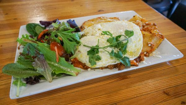 Chilaquiles at Daily Jam