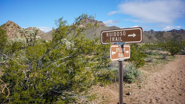 Trails at Usery Mountain Regional Park