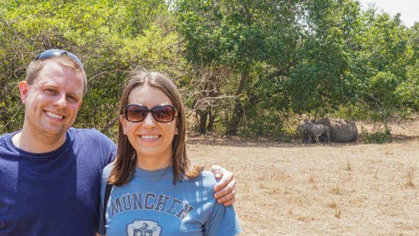 Baby Rhino at Ziwa