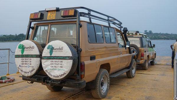 Churchill Safari Vehicle in Uganda