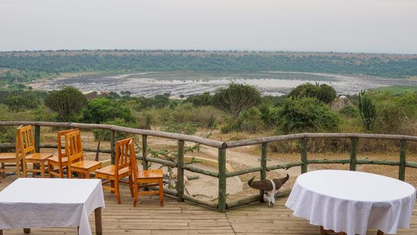 Lodging at Queen Elizabeth National Park