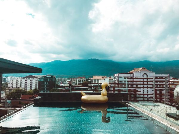 Rooftop Pool in Chiang Mai
