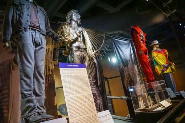 David Bowie's Clothing in Cleveland