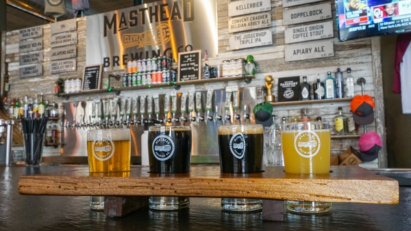 Masthead Brewing Co in Downtown Cleveland