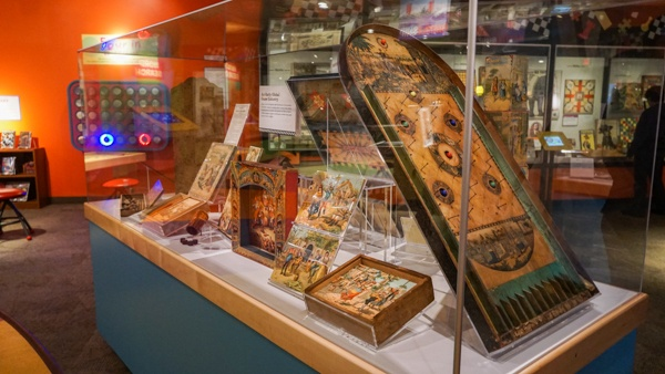 Early board games at the Strong Museum of Play