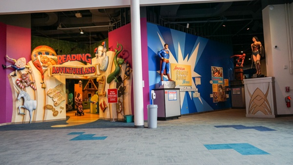 Super Heroes and Reading Adventureland at the Strong Museum